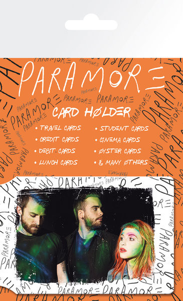 Kartenhalter PARAMORE - group