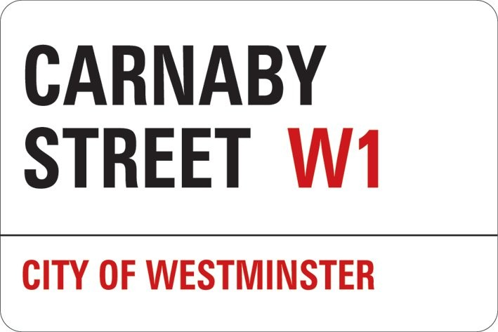 LONDON - carnaby street pegatina