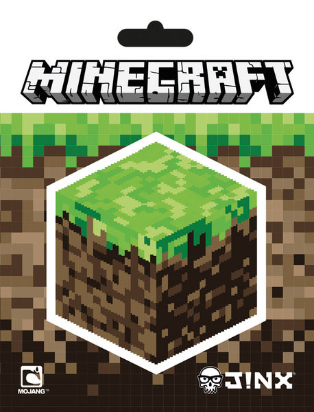 Minecraft - Block pegatina