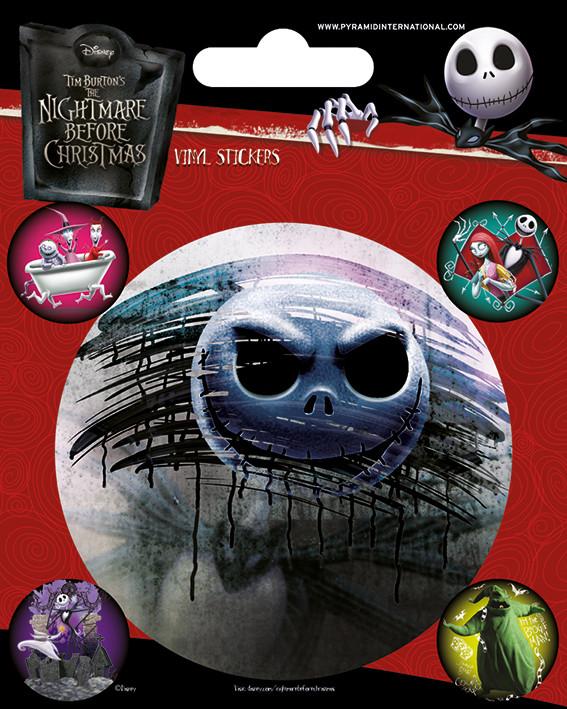 Nightmare Before Christmas - Characters pegatina