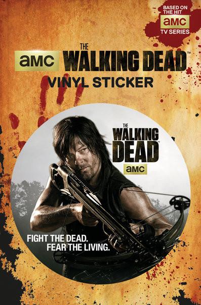 The Walking Dead - Daryl pegatina