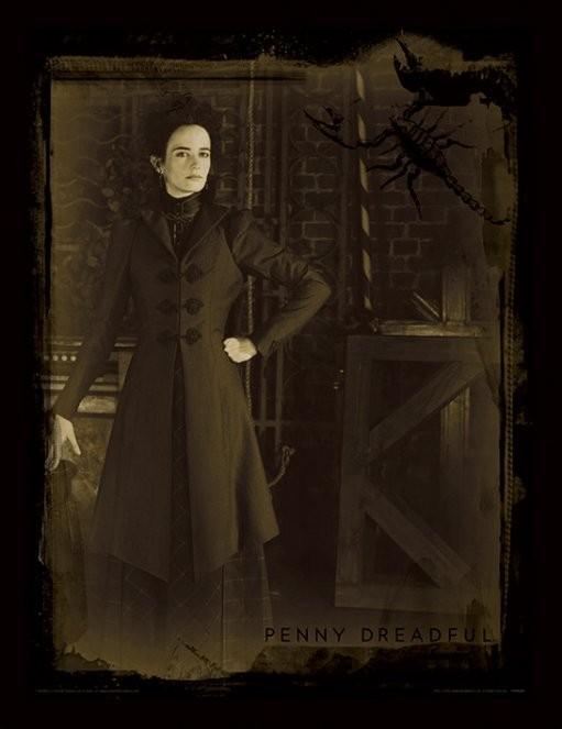 Penny Dreadful - Sepia rám s plexisklem