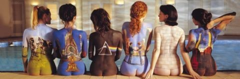 Pink Floyd - back catalogue - плакат (poster)