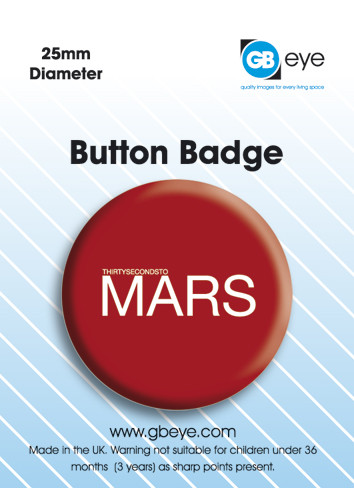 30 SECOND TO MARS - pin