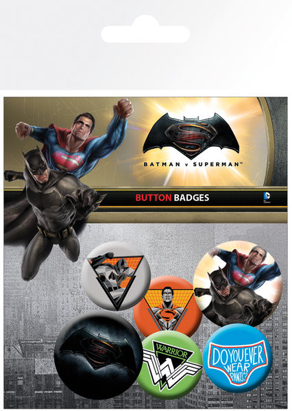 Pin - Batman Vs Superman - Mix