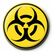 Pin - Biohazard