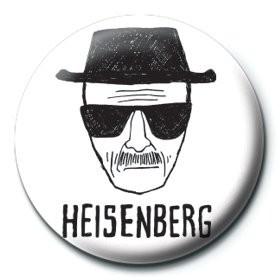 Pin - Breaking Bad - Heisenberg paper