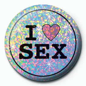 I LOVE SEX - pin