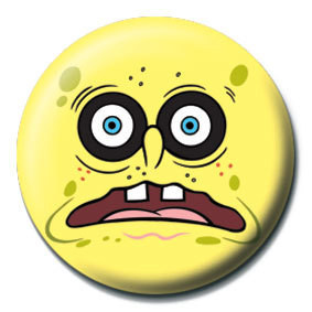 Pin - SPONGEBOB - black eyes