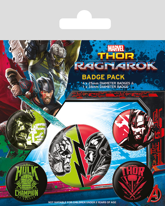 Pin -  Thor Ragnarok