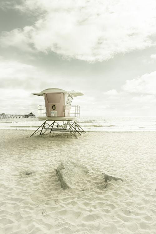 Cuadros en Lienzo CALIFORNIA Imperial Beach | Vintage