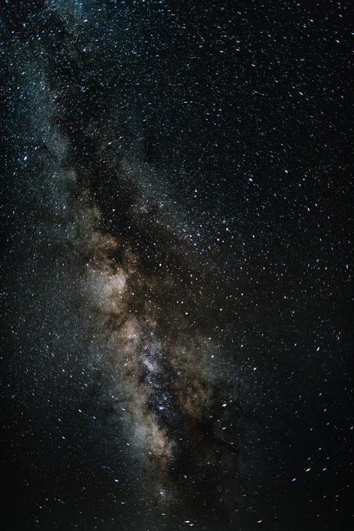Cuadros en Lienzo Details of Milky Way of St-Maria with brown-dark graded II