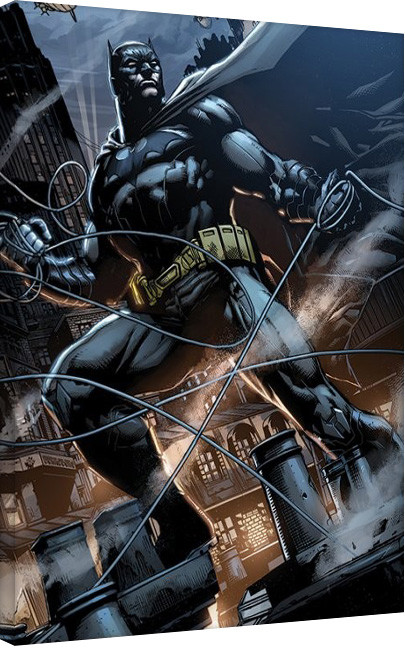 Pinturas sobre lienzo  Batman - Rooftop