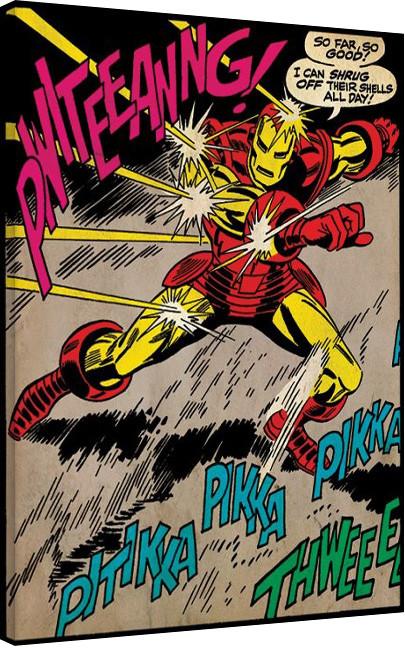 Pinturas sobre lienzo Iron Man - So Far So Good