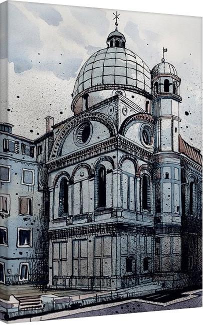 Pinturas sobre lienzo Jack the Flipper - Venice I