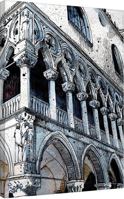 Pinturas sobre lienzo Jack the Flipper - Venice III