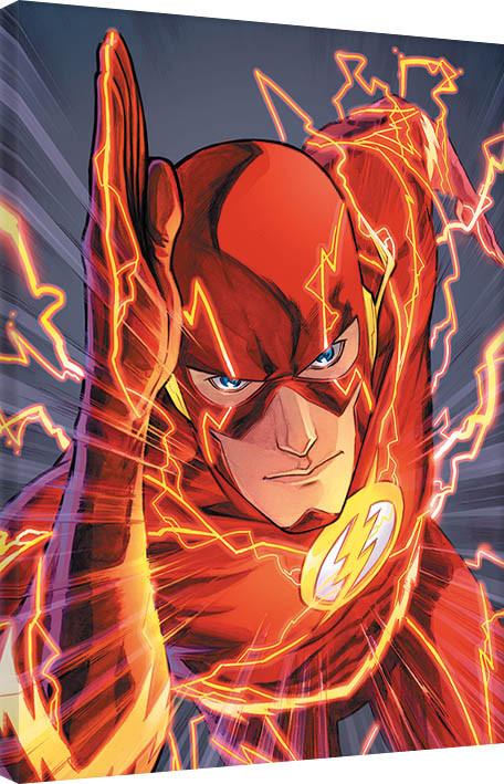Pinturas sobre lienzo  The Flash
