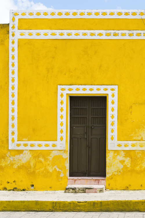 Cuadros en Lienzo  The Yellow City II - Izamal