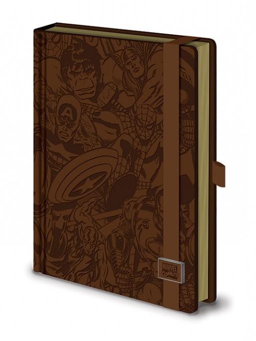Marvel Retro - Premium A5 notebook Písacie Potreby