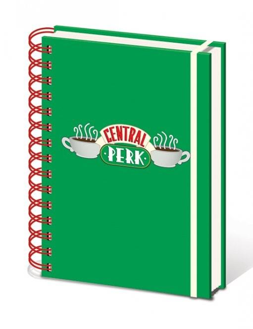 Priatelia  - Central Perk A5 notebook  Písacie Potreby