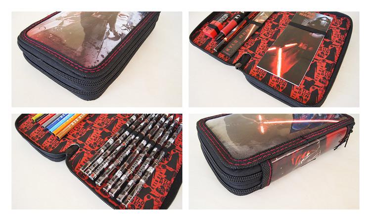 Star Wars : Epizóda VII - Kylo Ren Filled Pencil Case Písacie potreby