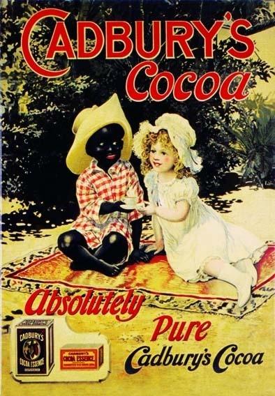 CADBURY'S COCOA Placă metalică