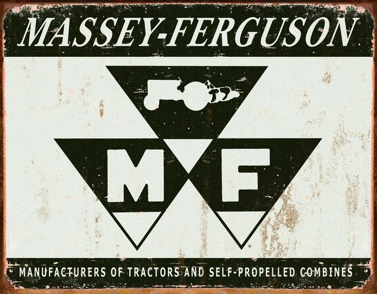 MASSEY FERGUSON Placă metalică