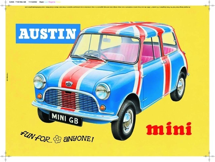 MINI GB Placă metalică