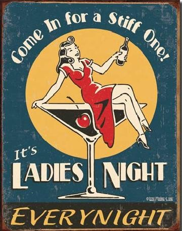 MOORE - Ladies Night Placă metalică