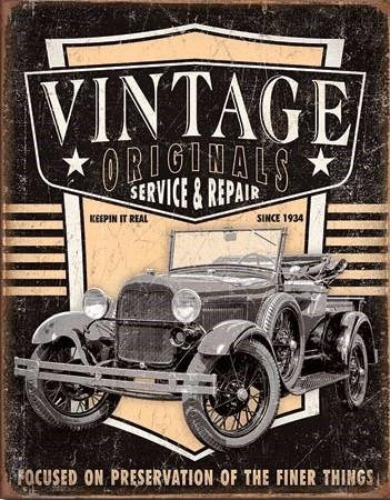 Vintage Originals - Pickup Placă metalică