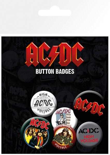 Odznak  AC/DC - Mix