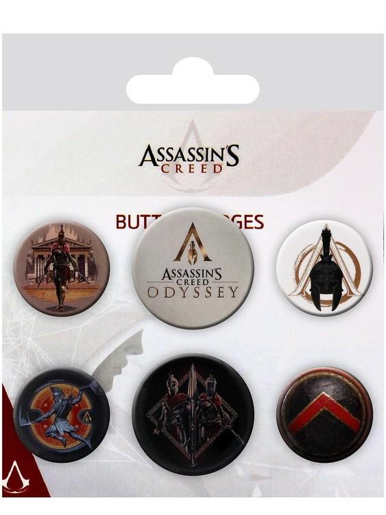 Plackový set Assassin's Creed Odyssey - Mix