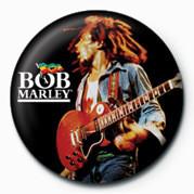Odznak BOB MARLEY - live