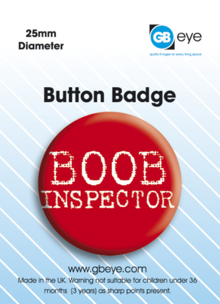 Odznak Boob Inspector