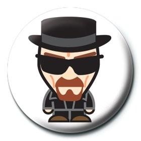Placka Breaking Bad (Perníkový táta) - Heisenberg suit