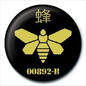 Odznak Breaking Bad (Perníkový tatko) - Golden Moth