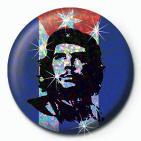 Odznak Che Guevara - vlajka