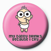 Odznak  D&G (Daddy Drinks)