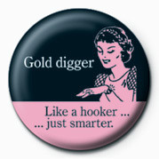 Odznak  D&G (GOLD DIGGER