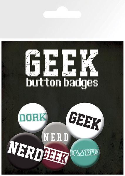 Odznak GEEKS & NERDS