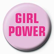 Odznak GIRL POWER