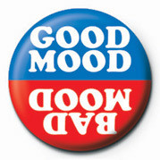 GOOD MOOD / BAD MOOD Placky | Odznaky