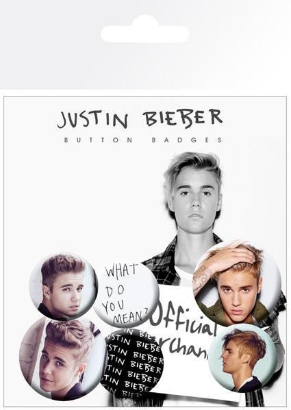 Odznak  Justin Bieber - Mix 3