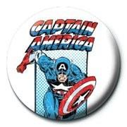 Odznak MARVEL - captain america