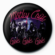Placka MOTLEY CRUE - GIRLS