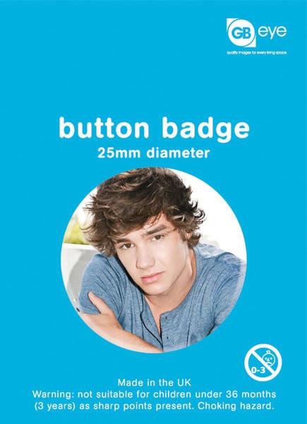 Odznak One Direction - Liam