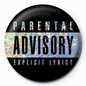 Placka PARENTAL ADVISORY