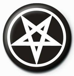 Odznak PENTAGRAM - bw
