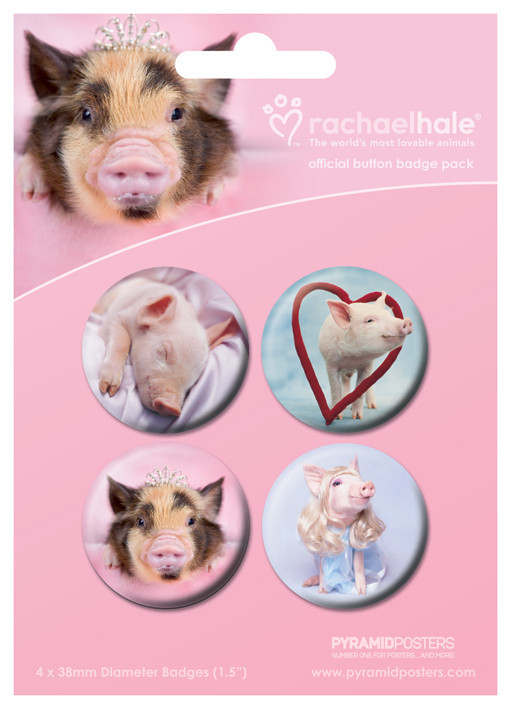Odznak RACHAEL HALE - ošípané