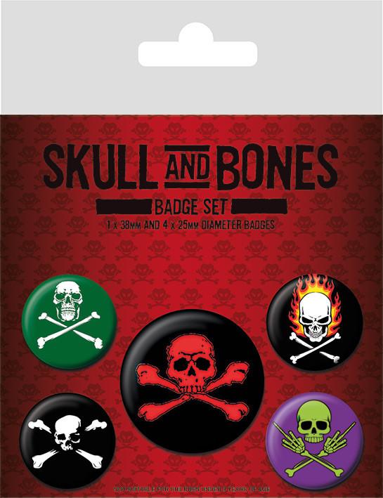 Placka  Skull and Bones